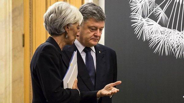 МВФ поставил Порошенко ульти…