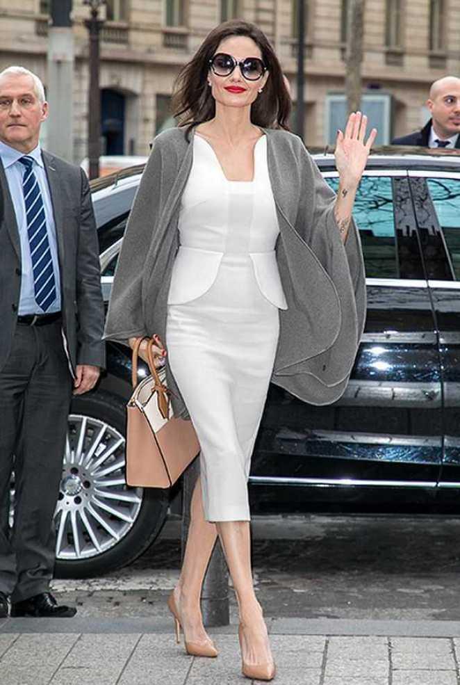 15 стильных повседневных образов Анджелины Джоли - Секреты стиля ...