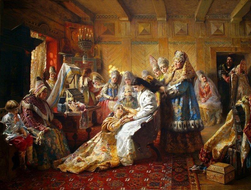 Картинки сватовство на руси, весна подснежники