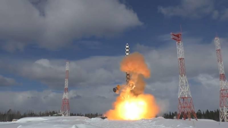 Межконтинентальные баллистические ракеты в стратегических ядерных силах России