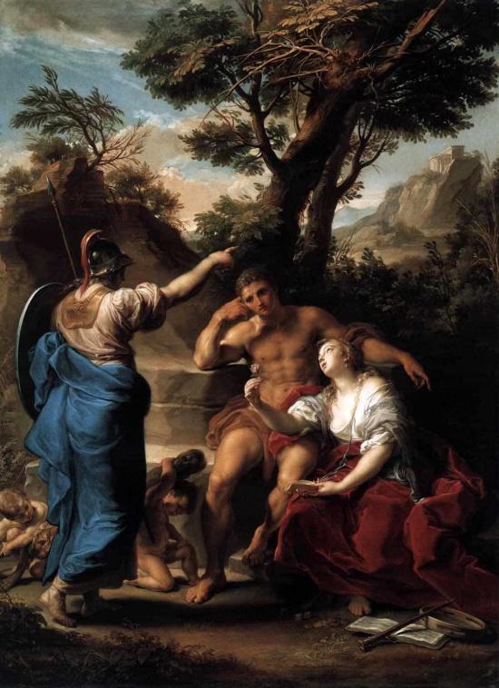 художник Помпео Джироламо Батони (Pompeo Girolam Batoni) картины – 14