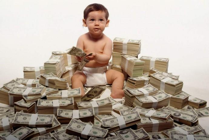 Сидеть с внуком за деньги? деньги