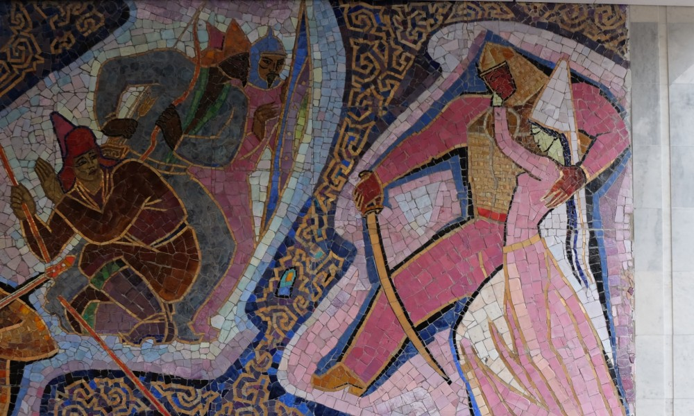 Пропавшие мозаика и фрески: потерянное советское искусство искусство
