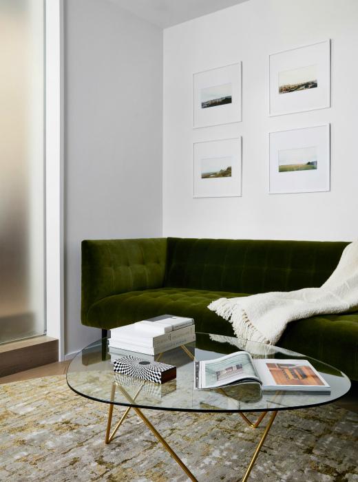 Легкая прозрачная мебель. | Фото: archidea.com.ua.