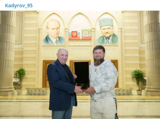 Кадыров нарушил запрет Путина кадыров,премия,пригожин,ФБР