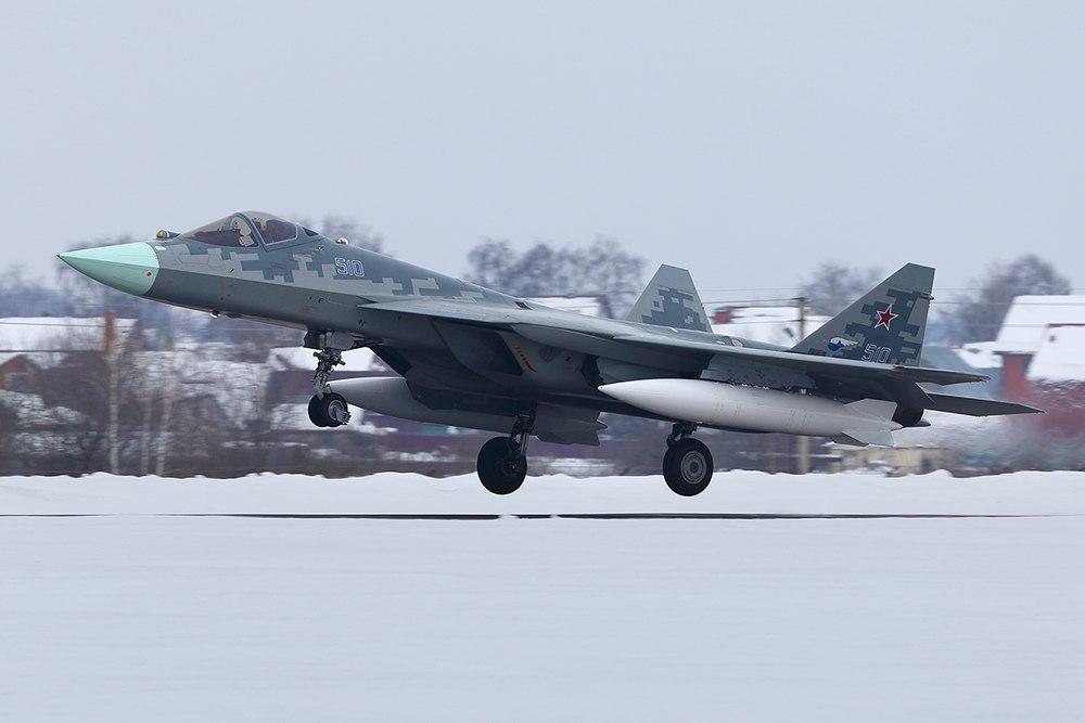Последний опытный образец ПАК ФА совершил перелет из Комсомольска-на-Амуре в Жуковский