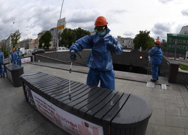 В России подтвердили 8,8 тыс. новых случаев коронавируса