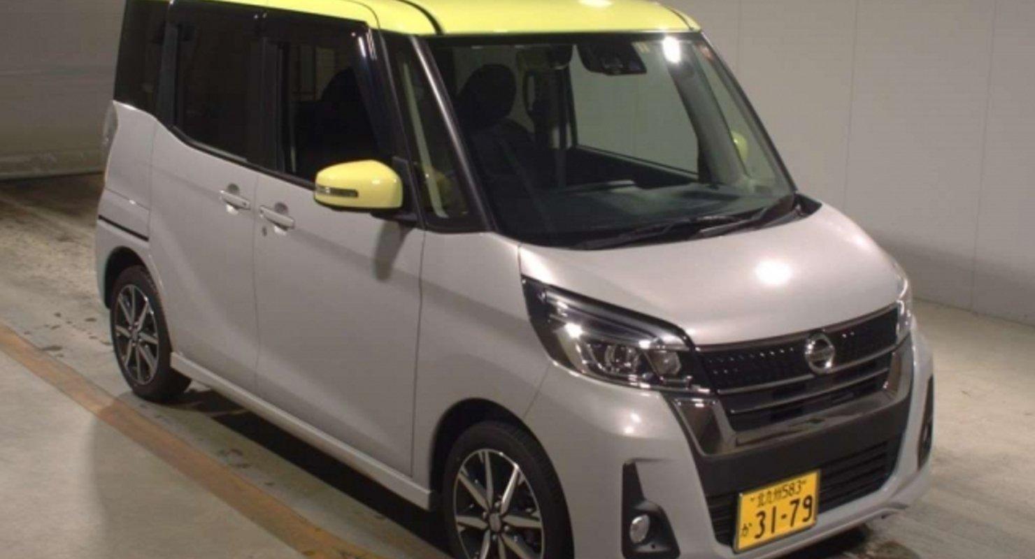 Nissan Dayz Roox B21A — особенности минивена необычной конструкции Автомобили