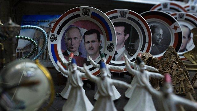 Жители Дамаска: пусть русские военные никогда не уходят из Сирии