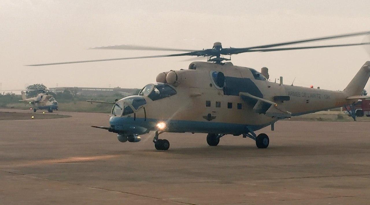 Вертолеты Ми-35М в Мали