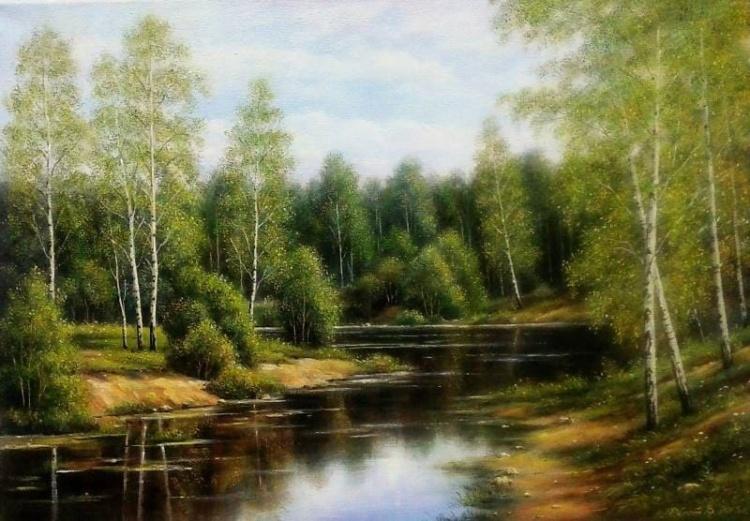 Картины на стекле художницы самоучки Эльзы Колесниковой