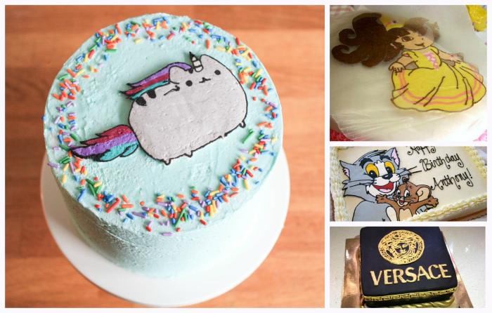 Праздничный лайфхак: как «отпечатать» любое изображение на торте