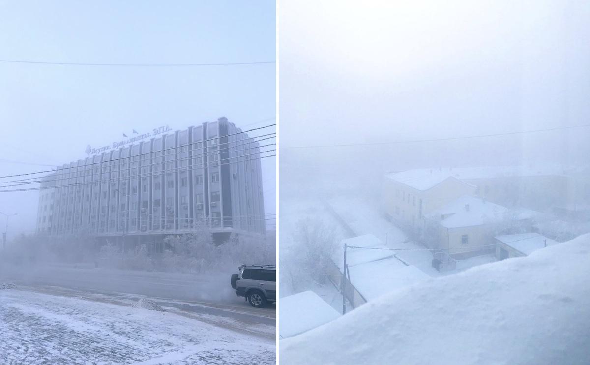 -50 °C — это красиво: блогерша рассказала о прогулке по Якутску в мороз
