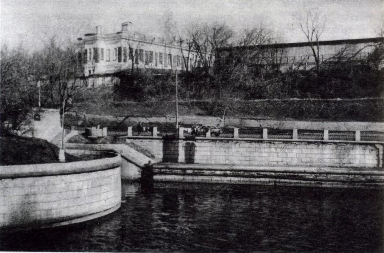 Яузский гидроузел. Фото 1940 года интересное, москва, старые фото, фото