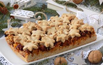 Рождественский яблочный пиро…