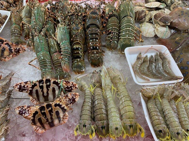 Рынок азия, море, отдых, путешествие, пхукет, тайланд, экзотика