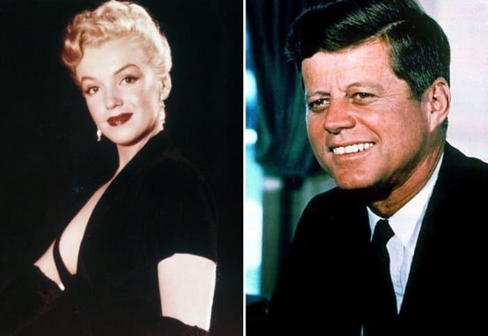 Мэрилин Монро и Джон Кеннеди | Фото: pravda.ru
