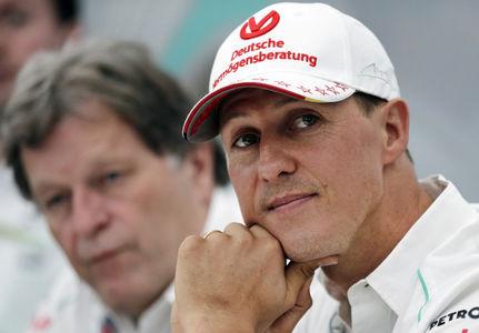 Михаэль Шумахер идет на поправку, он больше не прикован к постели