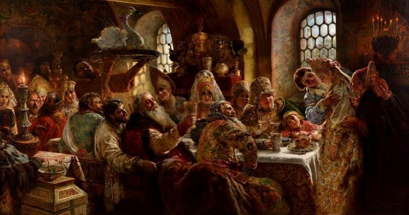 Лебеда, медвежатина, стерлядь и другие прелести старославянской кухни