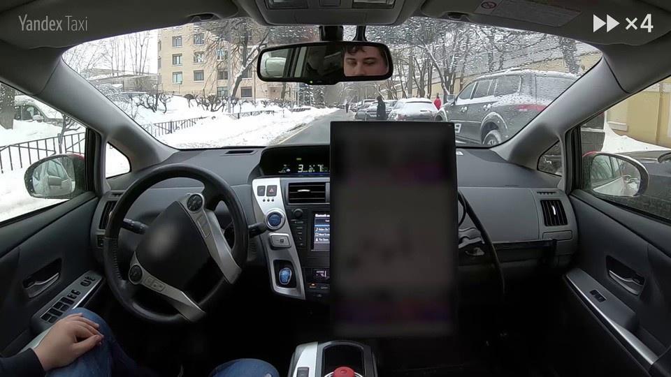 Видео: беспилотный автомобил…