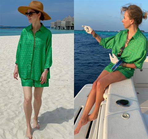 Модная битва: Алена Ахмадуллина против Светланы Бондарчук Битва платьев