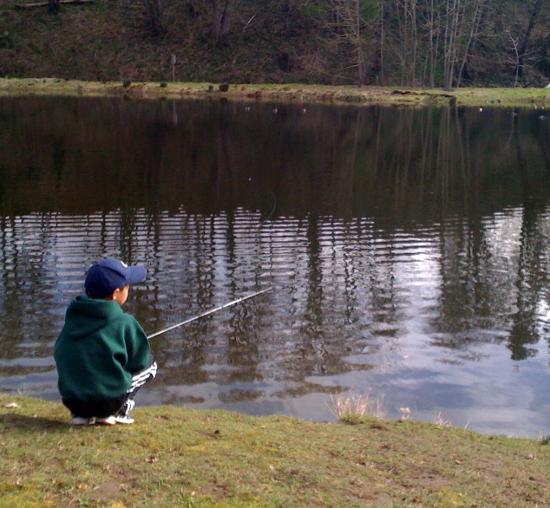 Рыбалка на острове сокровищ