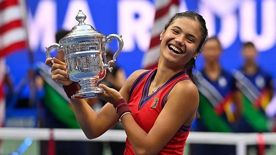 Британская теннисистка Эмма Радукану сенсационно вышла в финал «Большого шлема»