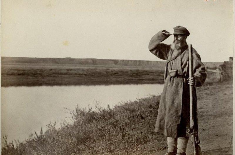 5. 75-летний казак-стрелок до революции, донские казаки, история, казаки, казачий быт, фотографии