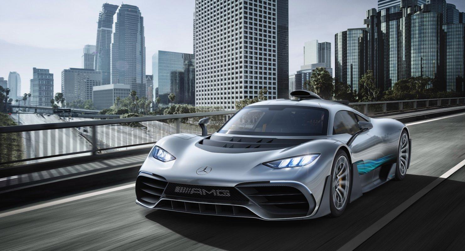 До 200 км/ч за шесть секунд: Mercedes-AMG Project One Автомобили