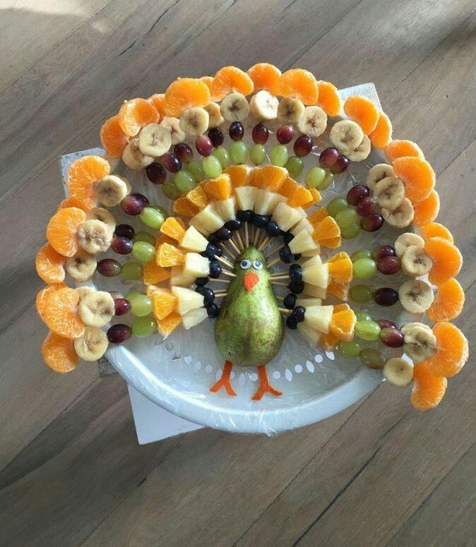 Детский фруктовый шашлык