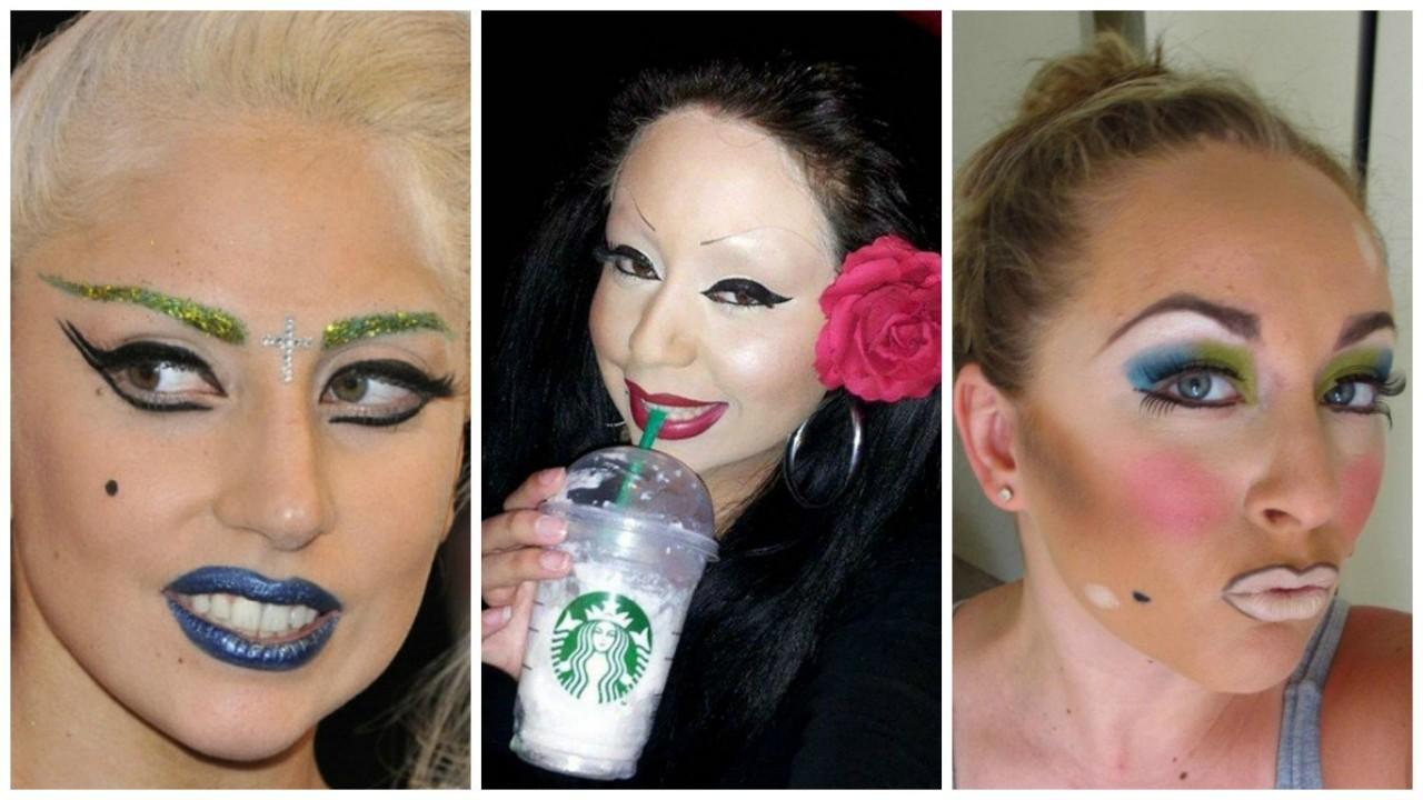 17 девушек, чей макияж слегка не удался