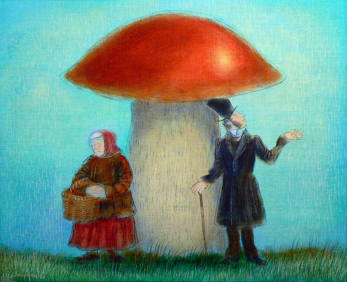 Грибной дождь. Автор: Игорь Шаймарданов.