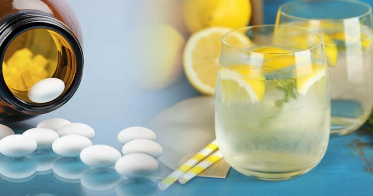 Пейте лимонную воду вместо таблеток - если у вас есть одна из этих 13 проблем!