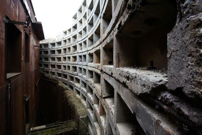 Секретный бункер Горбачева или 9 этажей под землей