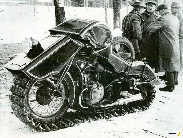 BMW Speziel Tr500 «Schneekrad»