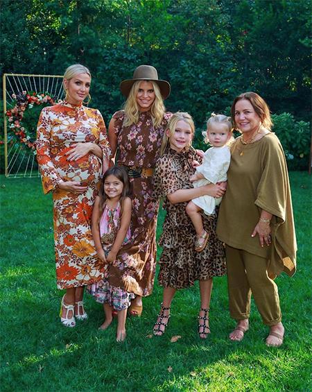 Эшли Симпсон провела вечеринку в честь будущего ребенка Дети,Беременные звезды