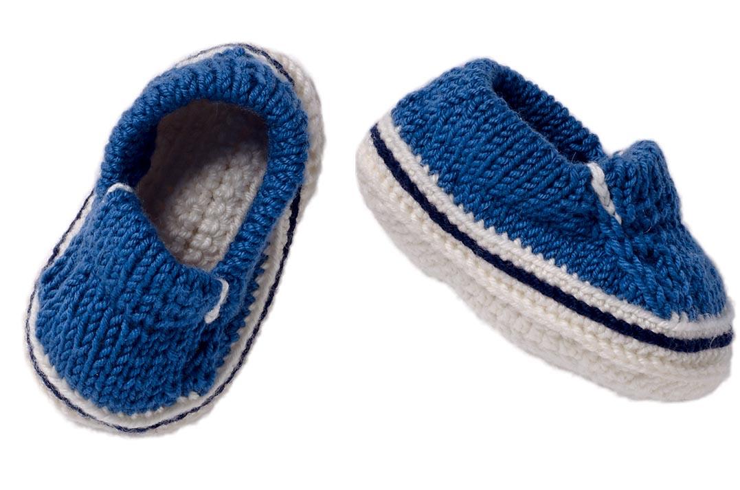 Модная обувь для малыша: пинетки-слипоны