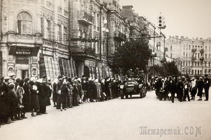 10 фактов об оккупации Киева