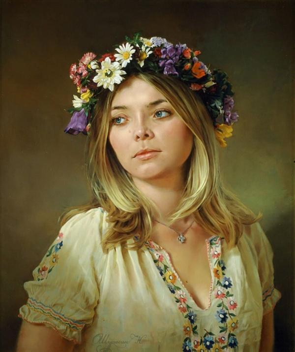 Художник Николай Шурыгин. Чудо многослойной живописи мастер на все руки