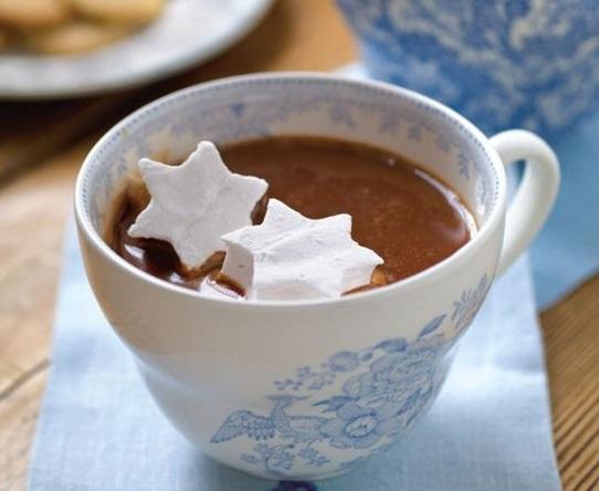 маршмеллоу в кофе