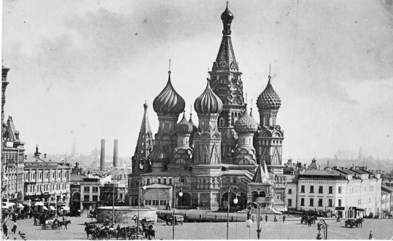 Храм Василия Блаженного интересное, москва, старые фото, фото