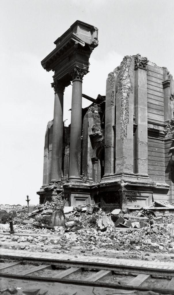 Сан-Франциско, 1906 г. Развалины мэрии джек лондон, история, фото