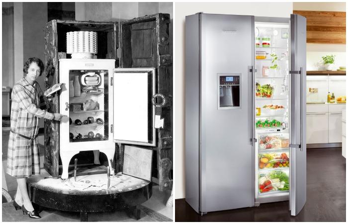 Эволюция холодильников: от «ледников» в подземельях до современных устройств