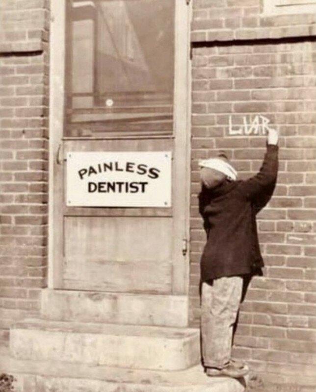 «Рассерженный пациент» в Сан-Диего, 1920-ые годы. история, ретро, фото