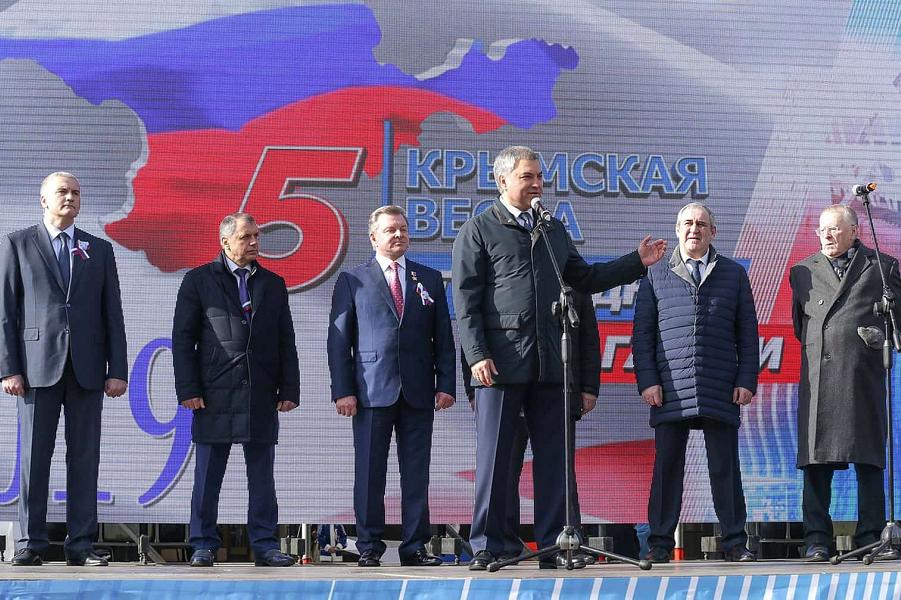 Володин: за аннексию Крым придется ответить и Украине, и Европе