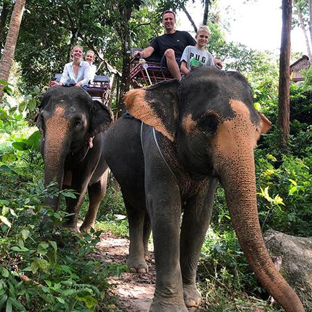 Активные пробежки, прогулки на слонах и острые блюда: Алексей Навальный с семьей отдыхает в Таиланде звездные пары