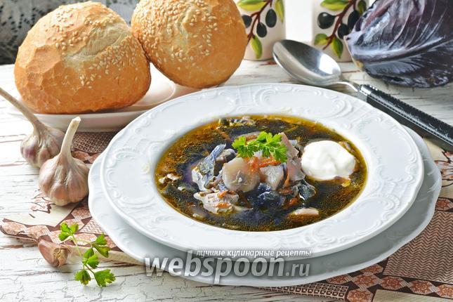 ДЕНЬ ПЕРВОГО БЛЮДА. Суп из красной капусты (3)