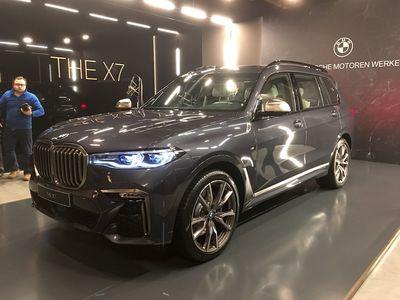 Новейший BMW X7 засветился в Москве