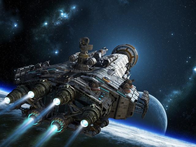 Россия представляет ядерный межзвёздный космический корабль