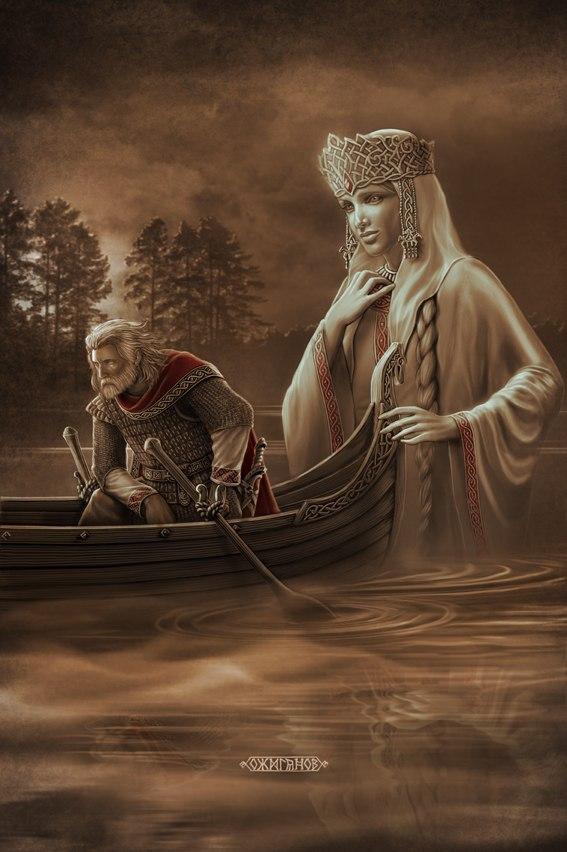 Славянские былины, скандинавские саги,народныесказания на картинах современных русских художников.